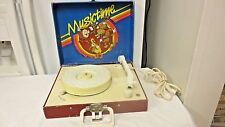 Vintage Vanity Fair MusicTime Record Player Phonograph Model 157-speeds 45 & 33