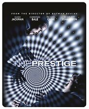 The Prestige (Blu-ray, STEELBOOK, Hugh Jackman, Christian Bale)  RegionFREE