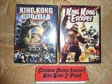 King Kong Vs Godzilla / King Kong Escapes (1962 / 1967) (2 Disc DVD)