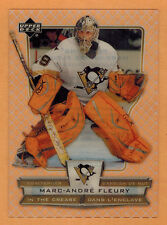 2007-08 , UD , (McDONALDS) , MARC-ANDRE FLEURY , CARD #ICMF , IN THE CREASE