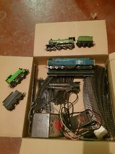 VINTAGE HORNBY RAILWAY TRAINS CARRIGES TRACKS CONTROL UNIT PRINCESS ELIZABETH