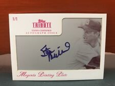 2012 Topps Tribute 1/1 Printing Plate Stan Musial Auto