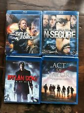Act of Valor + NSecure + Delta Force + Dylan Dog Blu-ray lot New Free Ship