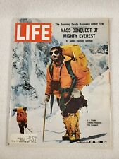 Life Magazine September 20, 1963 Mt Everest - Barbra Streisand Loch Ness Monster