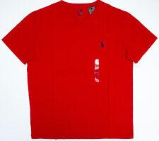 NEW Men Polo Ralph Lauren V-Neck T Shirt Size S M L XL XXL - STANDARD FIT