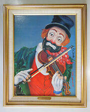 """RED SKELTON LITHOGRAPH PAINTING, """"MAESTRO"""", NUMBERED & SIGNED w/ COA"""