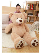 78''Giant Big USA Teddy Bear Plush Soft Toys Gift Doll Just Cover No Cotton Gift