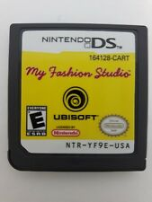 My Fashion Studio (Nintendo DS, 2008) Game only - Free Ship in Canada