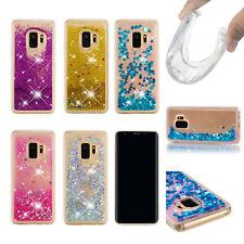 Full Wrap Soft Liquid Glitter Quicksand Anti Scratch TPU Case For iPhone + Care