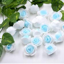 100 Stk.Schaum Rosen Künstliche Blumen  Rosenblüten Hochzeit Deko Taufe