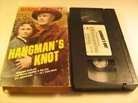 VHS Western Movie HANGMAN'S KNOT Randolph Scott  [Z11]
