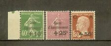 "FRANCE STAMP TIMBRE N° 253/55 ""CAISSE AMORTISSEMENT 3eme SERIE 1929"" NEUFS xx TB"