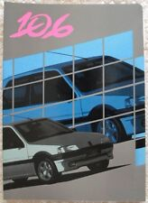 PEUGEOT 106 1991 Launch Press Pack + Photos - Comprehensive - Brochure Related