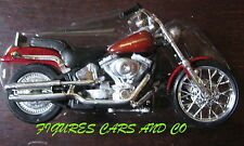 MOTO 1/18  HARLEY DAVIDSON  2000  1450 cc DEUCE SOFTAIL