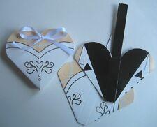 "WEDDING-BONBONNIERE""1/2 Price Special"" 50 x 9.5x8x1.4cm Heart Bride & Groom"