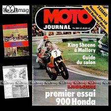 MOTO JOURNAL 380 CAN-AM 250 QUALIFIER MX5 CCM 350 HONDA CB 900 F BOL D'OR 1978