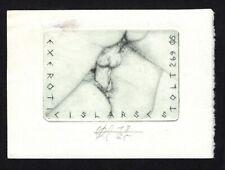 04)Nr.143- EXLIBRIS- Erotik / erotic, Oskar Roland Schroth