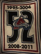 Adam Foote retirement Patch -Colorado Avalanche Avs