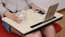 Kikkerland Lap Desk Tablet De Madera Grandes oficina Interafricana de Epizootias iPad Cama Escritorio Oficina Bandeja