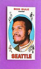 1969 TOPPS Bob Rule Rc Rookie SET BREAK #30 NM MT