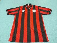 "Vintage Manchester City Jersey Large 42"" 1984 -86 Umbro Away Football Shirt"