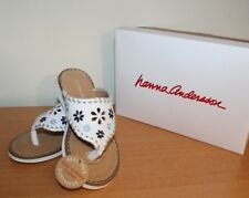 New Hanna Andersson Dagmar sandals for little girls size 8