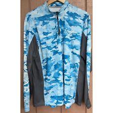Cabelas Guidewear Blue Pullover Jacket