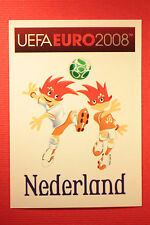 Panini EURO 2008 N. 254 MASCOTTE NEDERLAND NEW With BLACK BACK TOPMINT !!!