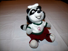 Hudson Valley Renegades MiLB Rene Mascot Plush Beanbag Animal Raccoon Doll NEW