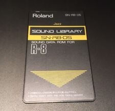 ROLAND R8 Cartridge Card Jazz