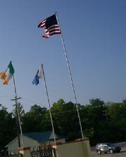 25 Foot Aluminum Flagpole Flag Pole Kit 25'