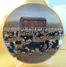 """Franklin Mint The American Folk Art Collection """"Spring Pasture"""" L Herrero plate."""