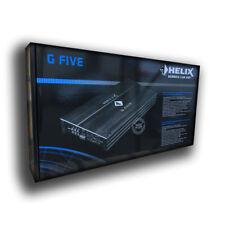 Helix G Five - 5 Kanal Endstufe Verstärker analog 4 x 80W RMS 1 x 600W RMS 6xCin