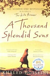 A Thousand Splendid Suns by Hosseini, Khaled Paperback Book The Cheap Fast Free