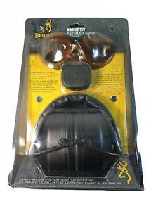 Browning Shooting Glasses Range Kit Hearing Protection Foam Earplugs 126368 New