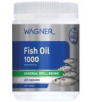Wagner Fish Oil 1000 400 Capsules