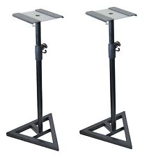 2x Ignite Heavy Duty Near-Field Studio Monitor Speaker Stands Adjustable - Pair