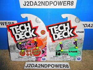 TECH DECK 2021 SERIES SANTA CRUZ FABIANA & PLANB AURELIEN ULTRA RARE ROOKIE PRO
