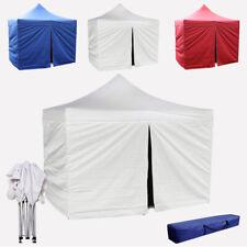 Gazebo tenda richiudibile 3x3 rapido pieghevole con laterali. Impermeabile