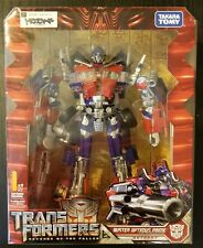 TAKARA Transformers ROTF RA-24 Buster Optimus Prime with wheel  relocation fixed