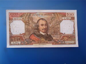 100  FRANCS CORNEILLE  1970   L 484