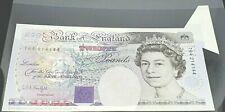 SPECTACULAR ERROR EXTRA PAPER/FISHFIN KENTFIELD 94-99 £20 BANKNOTE UNCIRCULATED
