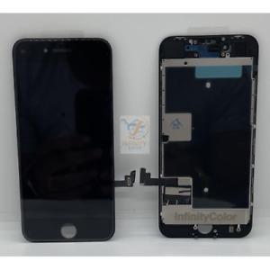 TOUCH VETRO SCHERMO LCD DISPLAY APPLE IPHONE 8  NERO INCELL COME ORIGINALE