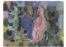Tarjeta de arte: Georg Baselitz-la pareja amorosa