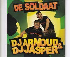 CD DJ ARNOUD & DJ JASPE de soldaat ( nick en simon cover)CARDSLEEVE EX (B5267)