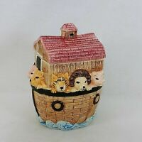 Cookie Jar Noah's Ark Ceramic Wang's International Vintage