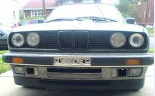 BMW E30 3 Series Euro Front Deep Bumper Chin Spoiler Lip Sport Valance Splitter