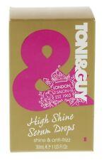 TONI & GUY - HIGH SHINE SERUM DROPS – SHINE & ANTI-FRIZZ HIGH GLOSS FINISH -30ml