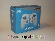 NINTENDO Wii U WHITE WIRELESS PROCUBE GAMECUBE STYLE CONTROLLER WITH GUARANTEE