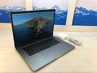 "Apple MacBook Pro Touch Bar 2018 15"" Laptop 256GB 16GB RAM Space Gray AppleCare+"